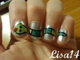 Snake nails!