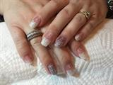 Glitter Acrylic Nail
