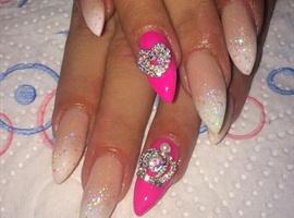 nail art: Nail Bling