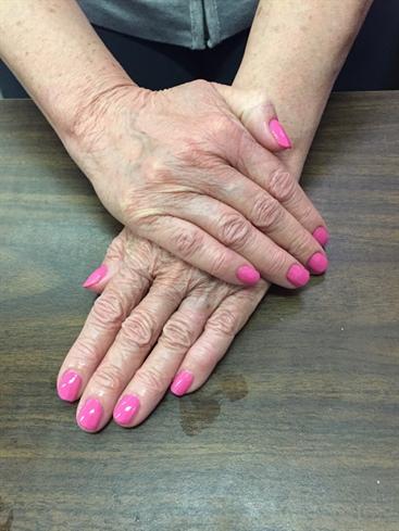 Basic Manicure And Polish