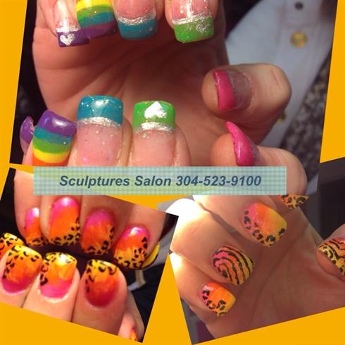 Sunny gel nails