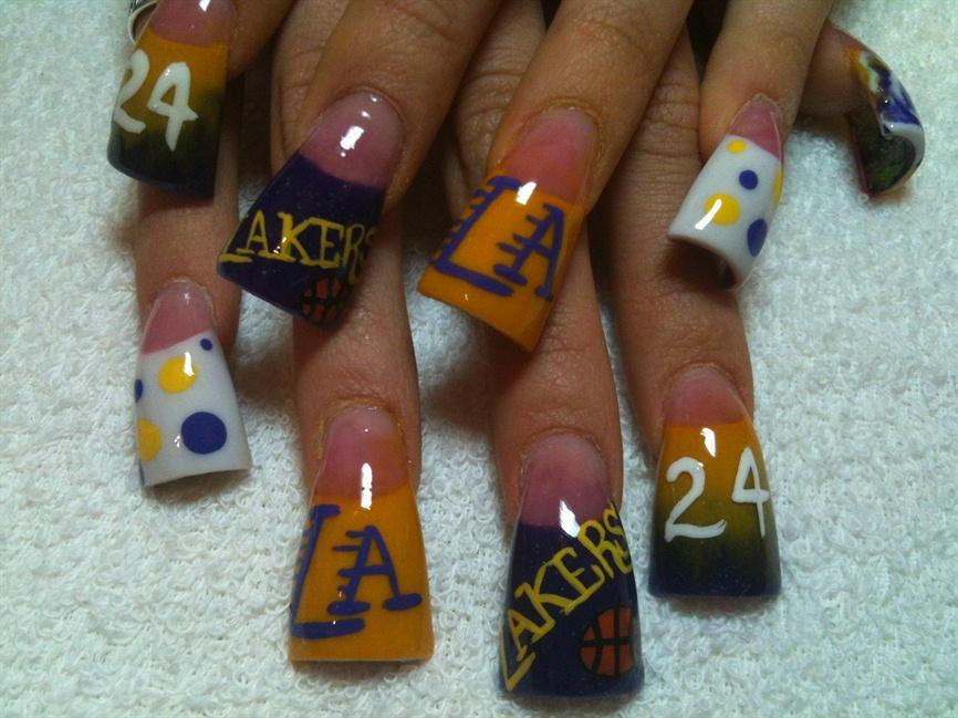 La Laker Nails Nail Art Gallery