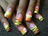 stripes n flowers