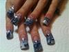 silver blue wht swirls