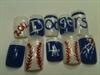 Dodger nails!!!!!!