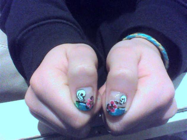 my interpretation of robinmoses' nails