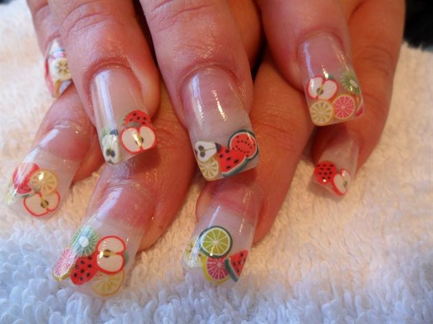 Fimo canes nail art nails gallery fimo canes nail art image prinsesfo Choice Image