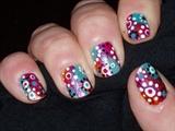 Multi-coloured funky