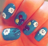 Happy Skies Nails