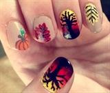 Autumn Sunset Nails