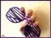 Purple glitters