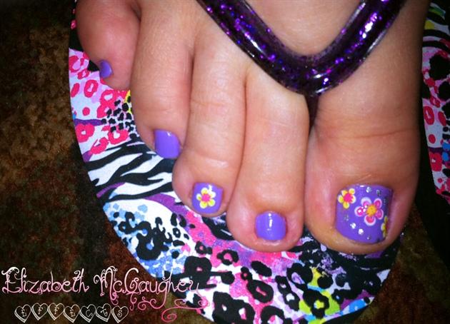 Candy Flowers Pedi