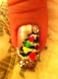 my christmas tree 2011w/ real stone