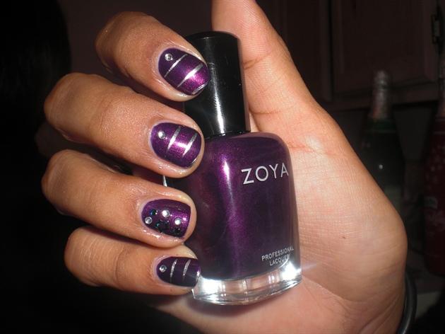 Purple stars n stripes