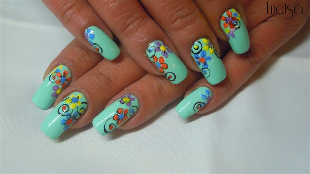 Spring Color Pop by Lnetsa from Nail Art Gallery