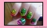 neon fade zebra