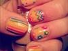 nude with rainbow