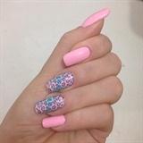 Nail Pink Adhesive Animal