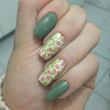 Green and adhesive