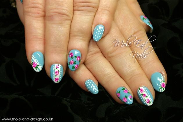 Cath Kidston design nails