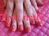 Gel Nails With 3d Heart