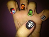 Hallowen  Nail Art