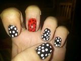 Flamenco Nail Art