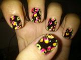 Fluor Spring Nail Art