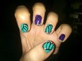 Butterfly Wind Nail Art
