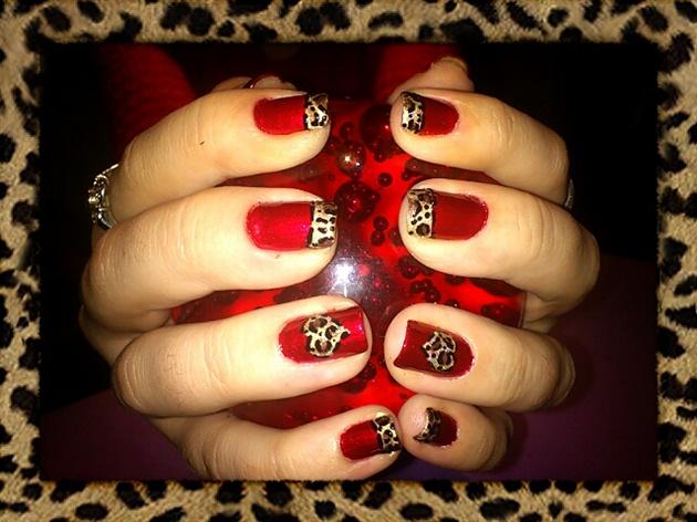Cherryleopard Stlentines Nail Art Nail Art Gallery