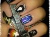 Metallica Nail Art