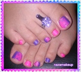 Matte Tie & Dye Nail Art