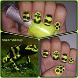 Poison Frog Nail Art