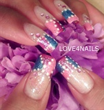 NAIL ART DESIGN GLITTER PATCHES