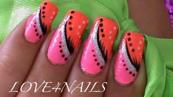 Simple abstract nail art design nail art gallery simple abstract nail art design prinsesfo Choice Image