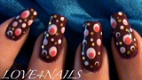 Dizzy Dots Nail Art Design