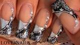 Stars & Beads Nail Design