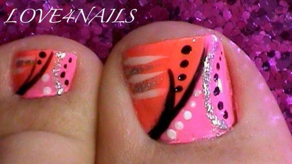 Abstract toe nail art design nail art gallery abstract toe nail art design prinsesfo Choice Image
