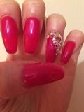 Pink/red Diamanté