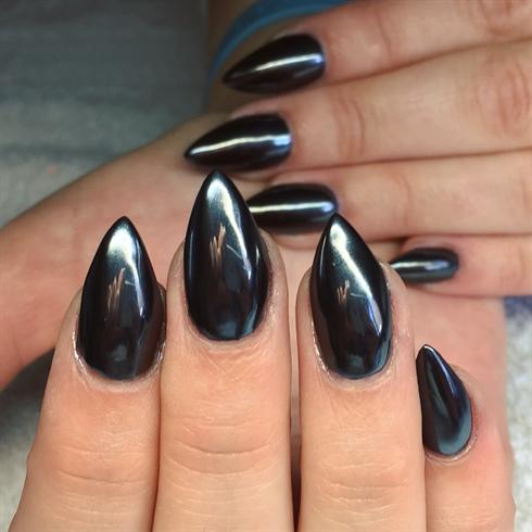 Little Black Dress Nails