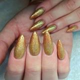 Gold Royal Nails