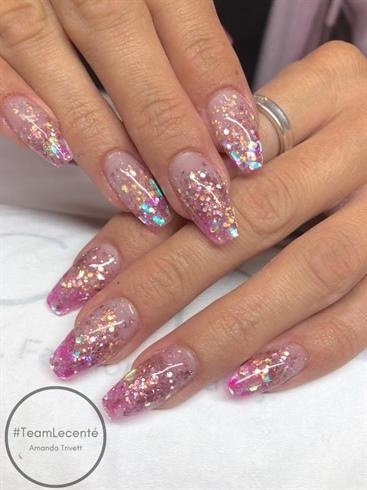 Flamingo Nails