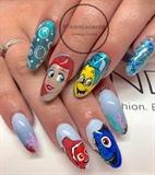 Disney Mermaid / Dory Mash up