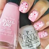 Valentine's Day- Pink Dotticure