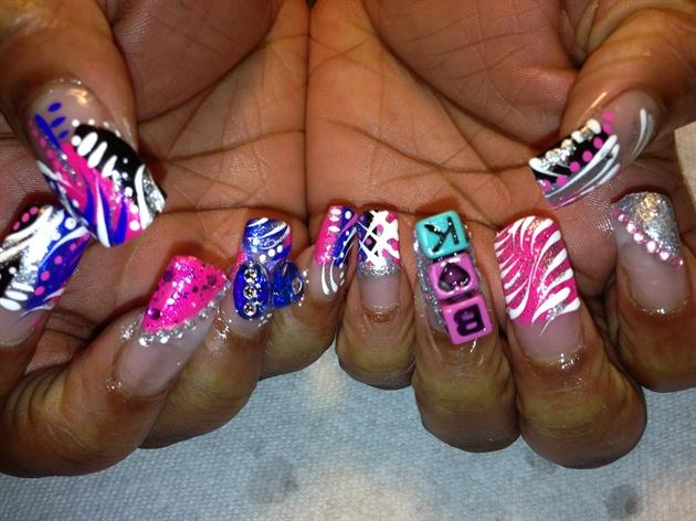 Crazy Nails Nail Art Gallery