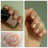 Nail art stamping *romantique *