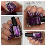 Nail art stamping *baroque*