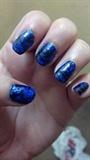 hallographic nail art