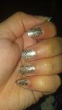 Stick-on nail art