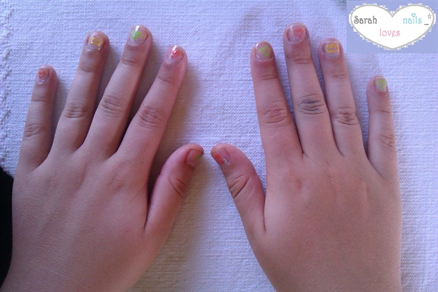 My Sisters Kingdom Hearts Nails